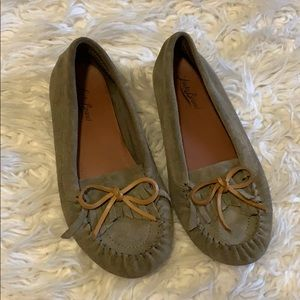 Lucky Brand Grey Loafers SIZE 7